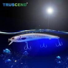 2019 LED Electric Vibration Rechargeable Fishing lure Jerkbait Artificial Jigging Bait Fish Wobblers Winter Equipment