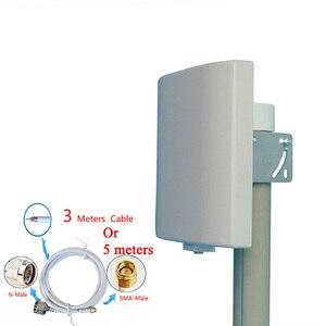 Image 4 - UHF アンテナ 433MHz 指向性アンテナ 423 〜 443MHz 壁マウントパッチパネル平面アンテナ Lorawan NB IOT アンテナ
