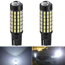 2x T10 W5W LED التخليص مصباح إيقاف السيارة لمرسيدس بنز w212 w203 w124 w205 w205 w211 w210 العداء سيارة led لمبات 12v 6000K