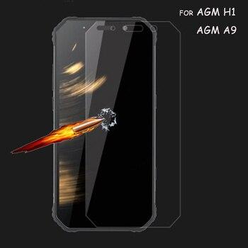 Перейти на Алиэкспресс и купить 2 шт закаленное стекло для AGM H1 Защитная пленка для телефона для AGM A9 протектор экрана 2.5D 9H премиум стекло