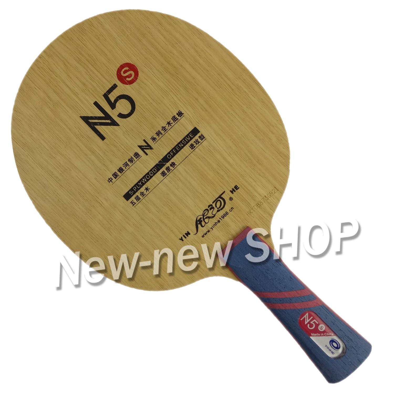 Yinhe N5 N5S N-5 Wooden N 5 Attack+Loop OFF Table Tennis Blade For PingPong Racket