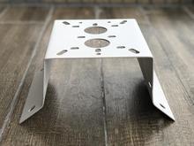Owlcat metal canto suporte de montagem para câmera ip cctv ptz parede instalar ao ar livre à prova dwaterproof água branco