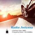 CB радиоантенна антенна для улицы личные автомобильные детали NMO 144 МГц 430 МГц УВЧ СВЧ украшение для мобильных жителей радиостанция