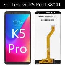 עבור Lenovo K5 פרו L38041 תצוגת LCD והרכבת מסך מגע עבור טלפון Lenovo L38041 K5PRO LCD מסך