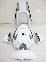 Абсолютно Новый ABS белый серебристый механический литьевой обтекатель комплект для honda CB400 VTEC 3 кузов Обтекатель cb 400 vtec3