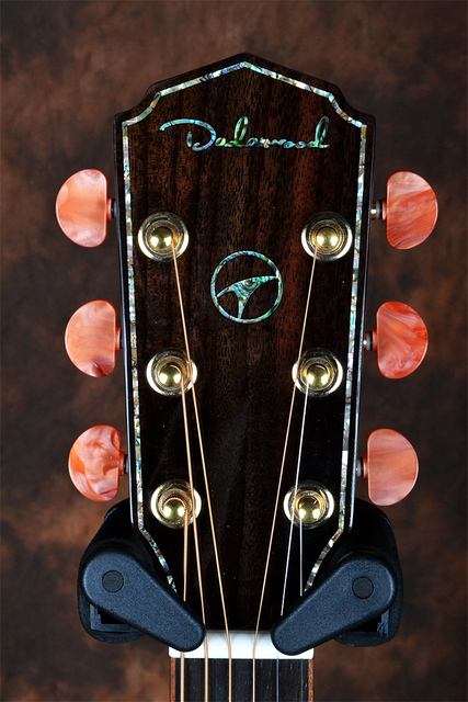 Dadarwood TR3100C handmade red pine solid top, rosewood solid sides and back, 41cutaway acoustic guitar 2
