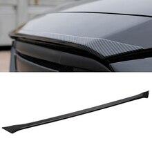 CEYUSOT для Mazda 6, накладка на переднюю крышку капота автомобиля,, 20, мазда 6, декоративная решетка из АБС-пластика, отделка из углеродного волокна, авто запчасти