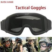 Тактические очки военные для стрельбы страйкбола армейские солнцезащитные