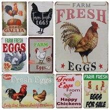 Get more info on the 30X20cm Plaque Vintage Tin Sign Plate Bar Pub Tintin Art Poster Home Car Plate Retro Metal Wall Farm Fresh Egg  Garage Decor H43