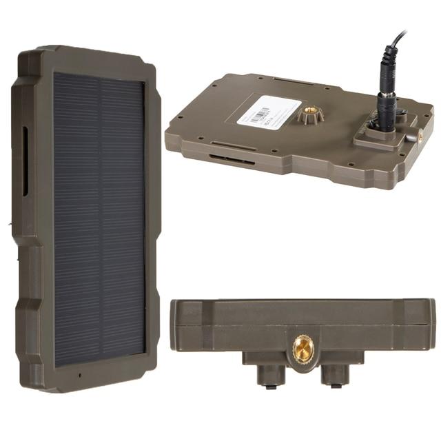 5000mA  12V Hunting Camera Solar Panel  Power Supply Charger Battery for Suntek 9V  HC900 HC801 HC700 HC550 HC300 Series 3