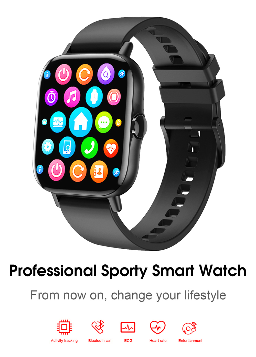 Hb730b4e92c364a9f9c5dd7b7389e3811B For Xiaomi IOS Apple Phone 1.78inch Smart Watch Android Men IP68 Waterproof Full Touch Woman Smartwatch Women 2021 Answer Call