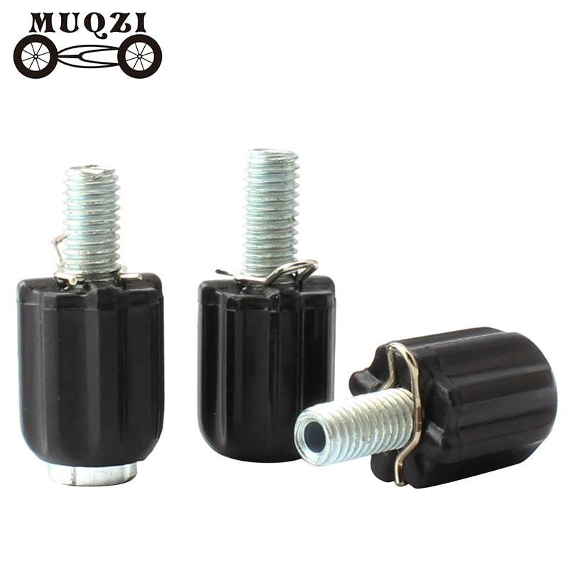 MUQZI 4pcs Bicycle Shifter Cable Adjustable Screw Transmission Adjustment V Brake Adjuster Bolt