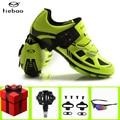 Tiebao  велосипедная обувь  педаль  SPD набор  sapatilha ciclismo  mtb  мужские кроссовки  самоблокирующиеся  дышащие  для велосипеда  mtb  обувь для гоночного...