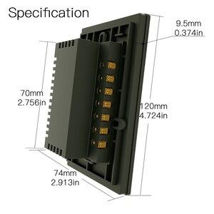 Image 5 - Interruptor táctil de pared inteligente RF433 WiFi, sin cable neutro, funciona con Alexa, Google Home, 170 250V
