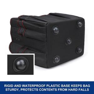 """Image 4 - WORKPRO 10 """"małe narzędzie torba ręczna składane zestawy narzędzi torba na ramię torebka Organizer na narzędzia worek do przechowywania"""