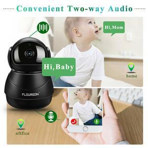 Image 3 - Caméra de surveillance IP Wifi HD 1080P, dispositif de sécurité domestique sans fil, avec codec H.264, 2.0 mégapixels, pour babyphone vidéo infrarouge