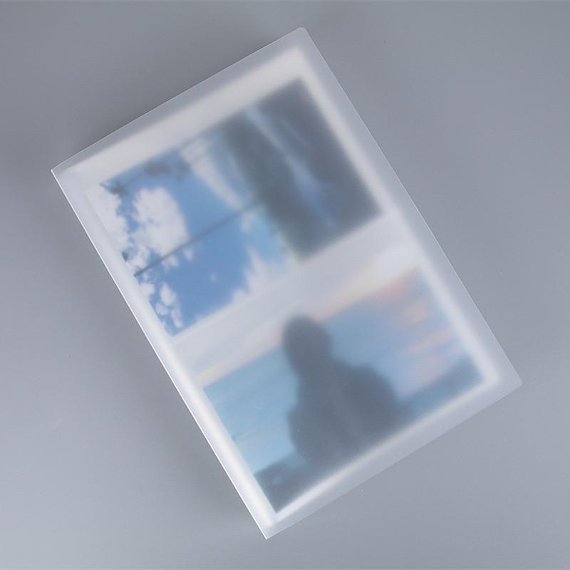 Матовый Прозрачный фотоальбом с 80 карманами для 4D 6-дюймовых 3R 5-дюймовых почтовых открыток, фотоальбом
