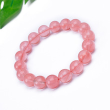 цены на 2019 New Hot Natural Stone Beads Bracelets Women Jewelry Watermelon Red Crystal Agate Stone Bracelet Love Stone Bracelets 19cm  в интернет-магазинах