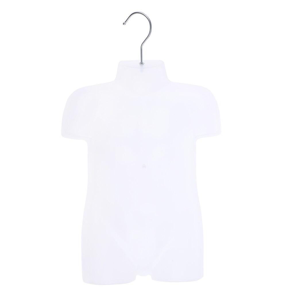 PE Dress Form Kids Cloth Mannequin Upper Body Torso Dressmaker Stand Display For Shop Salon Use