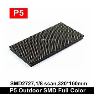 Image 1 - P5 في الهواء الطلق سمد كامل لون وحدة عرض إل سي دي 64x32 بكسل ، مقاومة للماء Led الفيديو الإلكترونية تاكسي تسجيل