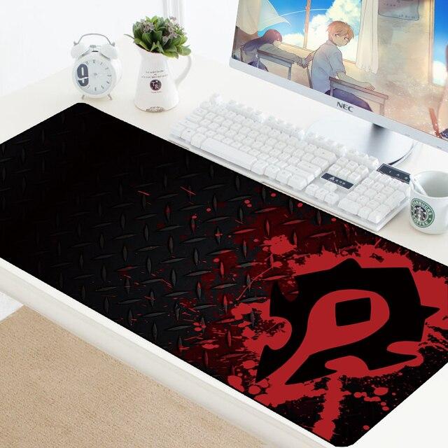 Welt von Warcraft Gaming Mauspad Speed Locking Rand WOW Große Natürliche Gummi Wasserdicht Spiel Schreibtisch Keyboad Matte für Dota Computer