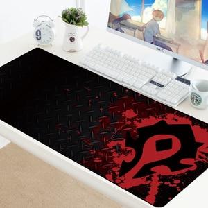 Image 1 - World of Warcraft Gaming Mousepad Speed Locking Edge WOW Large Natural Rubber Waterproof Game Desk Keyboad Mat for Dota Computer
