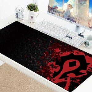 Image 1 - World of Warcraft podkładka pod mysz gamingową prędkość zabezpieczona krawędź WOW duża naturalna guma wodoodporna gra biurko klawiatura mata do komputera Dota