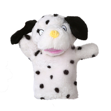 Short plush soft Cute Cartoon Animal Hand Puppets Kids hand Doll Glove Soft Plush Toys Story Telling interaction Puppets A40 cheap keep away from fire FNO01 3 years old Unisex over 3 years old handpuppe hand puppets for kids marioneta de mano tiburon