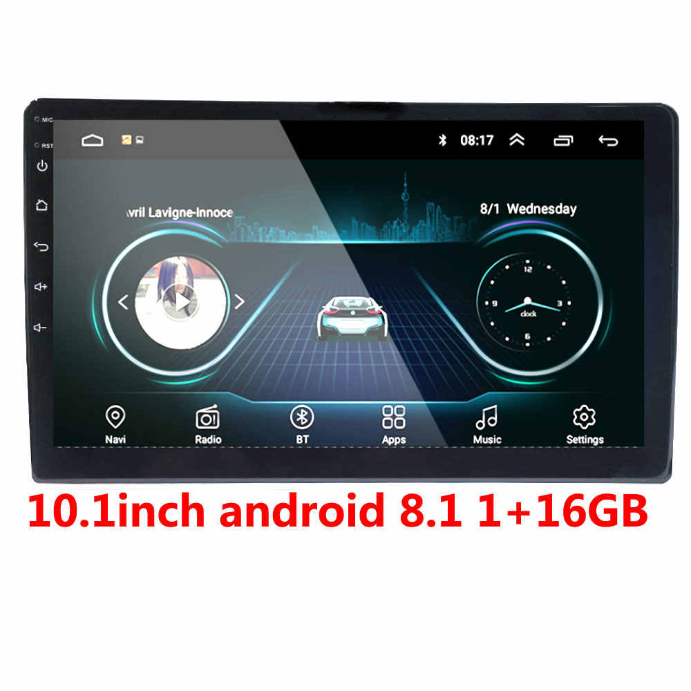 2din Mobil Radio Android Multimedia Player Autoradio 2 DIN 10.1 Inch Touch Screen GPS Bluetooth FM WIFI Auto Audio Player stereo