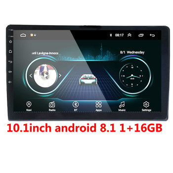 2din Car Radio Android multimedia player Autoradio 2 Din 10.1 inch Touch screen GPS Bluetooth FM WIFI auto audio player stereo image