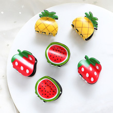 1PC Fashion Women Cute Hair Pins Clip Mini Fruit Shape Accessories ClawsHair Claws