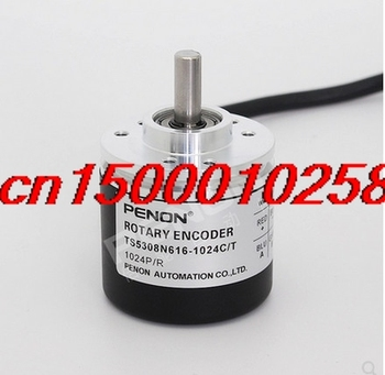 FREE SHIPPING TS5308N616-1024C/T Incremental photoelectric encoder used in rotary encoder elevator free shipping ovw2 25 2mhcp small encoder encoder