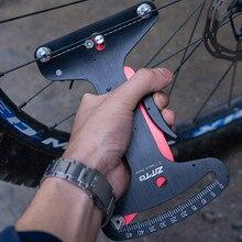 Outils de réparation de vélos, tensiomètre à rayons de vélo, ajusteur précis de la Tension des roues de bicyclette, accessoires de réparation de cycles de route @ 40