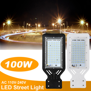 Led Street Light Area Parking Lot Yard Barn Outdoor Wall 100W Lamp Industrial Garden Square Highway Farola Road 1
