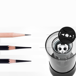 Image 3 - TEN WIN Electric Pencil Sharpener Plug in/Battery Two Models Multi function Automatic Pencil Electronic Sharpener Stationery
