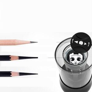 Image 3 - TEN WIN 전기 연필 깎이 플러그인/배터리 두 모델 다기능 자동 연필 전자 숫돌 편지지