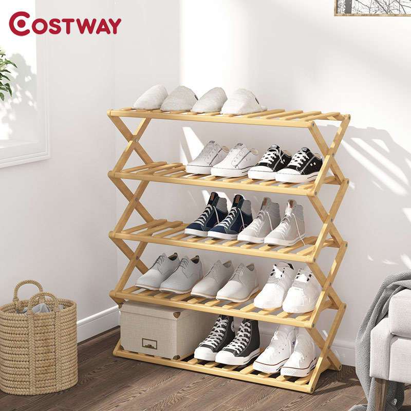 Shoe Rack Storage Cabinet Stand Shoe Organizer Shelf for shoes Home Furniture...