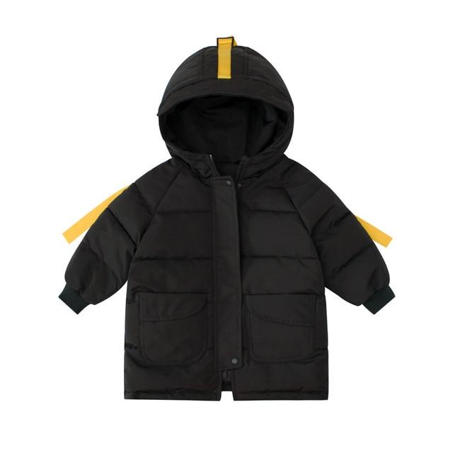 2 3 4 5 6 7 ans Garçons Manteaux Épais Chaud sweater à capuche dessin animé Vestes pour Garçons Enfants Vêtements Enfants Hiver Neige Usure Bambin Garçons Vestes