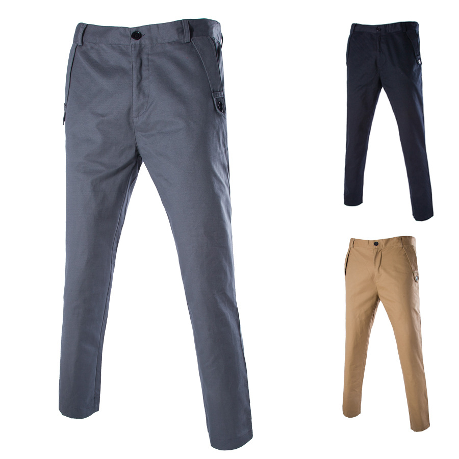 2016 High Quality Casual Pants Special Offer Men Casual Trousers Cotton MEN'S Trousers