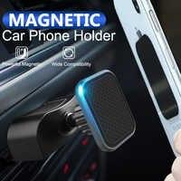 Fimilef Support de téléphone magnétique pour voiture pour iPhone XS X CD fente prise d'air Support de téléphone aimant Mobile Support de téléphone portable