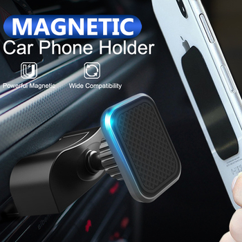 Fimilef Magnetic Car Phone Holder for iPhone XS X CD Slot Air Vent Phone Mount Holder Magnet Mobile Cellphone Stand Support