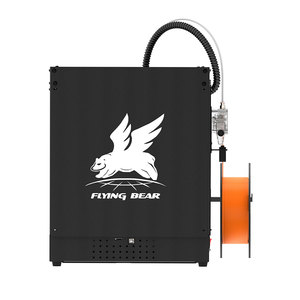 Image 3 - Ship from Russian and EU Warehouse  Flyingbear Ghost 5 3d Printer kit with Touchscreen DIY 3D ПРИНТЕР KIT