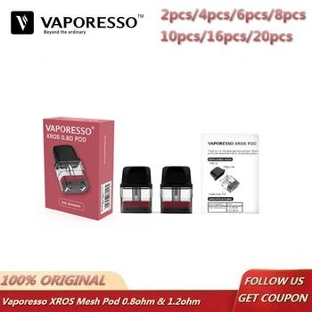 2 ~ 20 sztuk partia oryginalny Vaporesso XROS Pod 2ML kaseta elektroniczny papieros MTL Vape Atomizer dla Vaporesso XROS Pod zestaw tanie i dobre opinie Vaporesso XROS Replacement Pod Catridge 2ml Z tworzywa sztucznego Vaporesso XROS Pod System Kit Top Fill