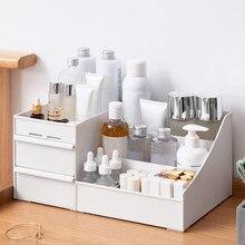 Organizador de maquiagem para cosméticos capacidade caixa de armazenamento de cosméticos caixa de gaveta de maquiagem casa desktop sundries organizador storge
