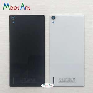 High quality For Huawei Ascend P7 P7-L10 P7-L00 P7-L05 Back Housing Battery Cover Door Rear Cover Glass with Adhesive