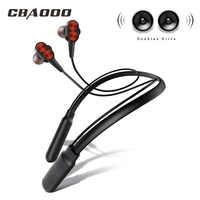 CBAOOOO B800 auriculares inalámbricos Bluetooth auriculares deportivos Auriculares auriculares estéreo Bluetooth auriculares con micrófono para teléfono