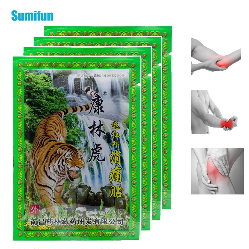 32Pcs=4bags Tiger Balm Arthritis Pain Patch Rheumatism Back Neck Muscle Sprain Medical Plaster Joints Painkiller Herbal Sticker