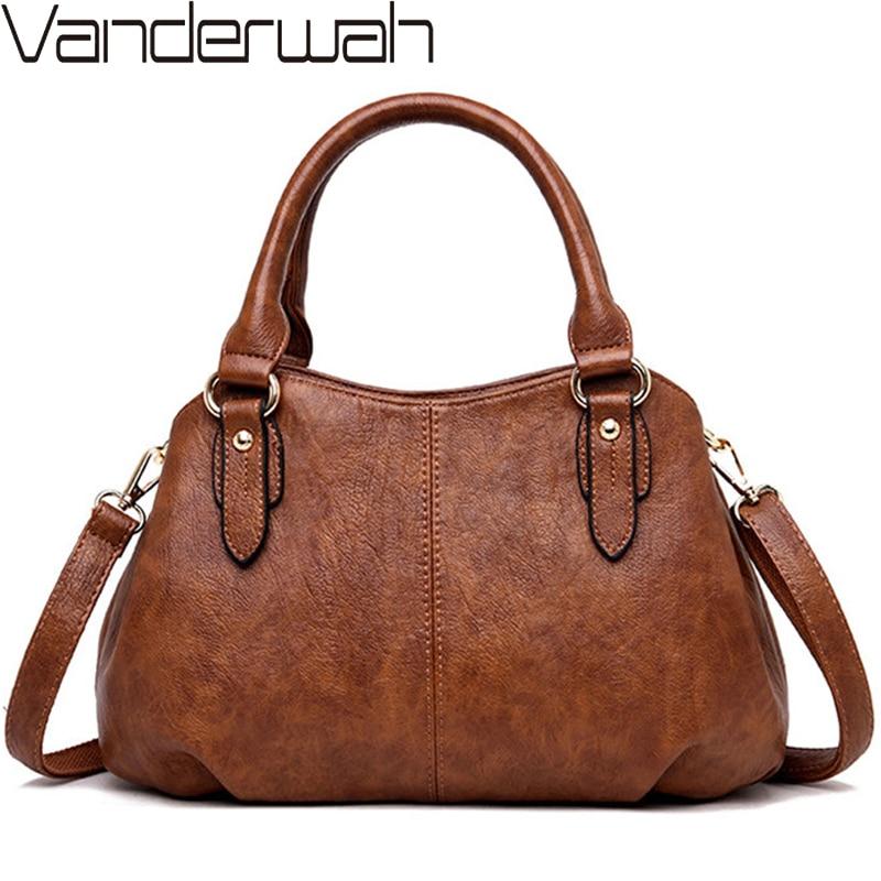 2019 Sac A Main Ladies Hand Crossbody Bags For Women Luxury Handbags Women Bags Designer High Quality PU leather Shoulder Bag