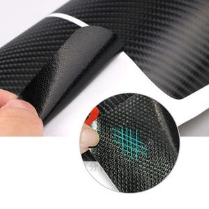 Image 5 - Auto Tür Willkommen Pedal Film Aufkleber für FORD ESCAPE Carbon Faser Anti Scratch Keine Slip Tür Sill Schutz Innenverschleißplatten türschwellerverkleidungen aufkleber