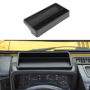 Image 2 - Cruscotto Scatola di Immagazzinaggio per Jeep Wrangler TJ 1997 2006 Dash Telefono Dellorganizzatore Del Supporto Del Vassoio
